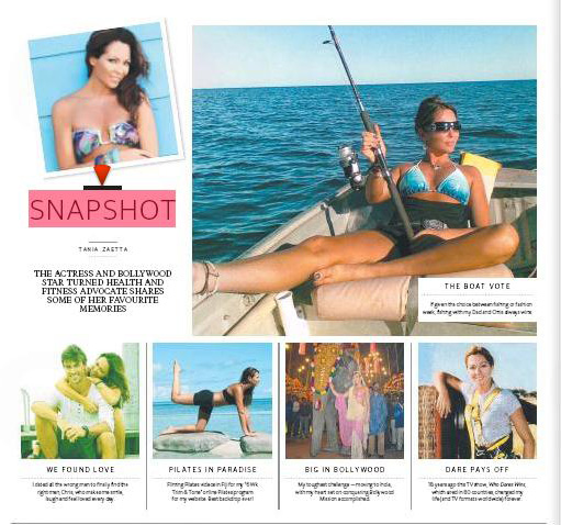 Tania Zaetta - Gold Coast Eye -  Snapshot - Online Pilates Program